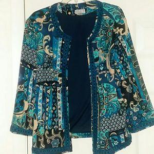 """Joan Rivers 3/4 """"Blazer """" EUC Size XL"""